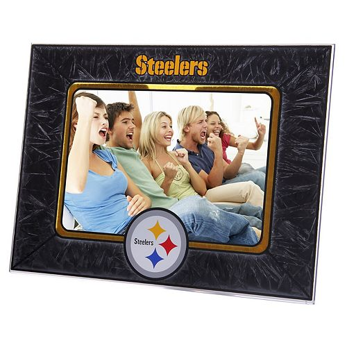 Pittsburgh Steelers Horizontal Art Glass Frame