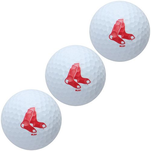 Boston Red Sox Pack of 3 Golf Balls