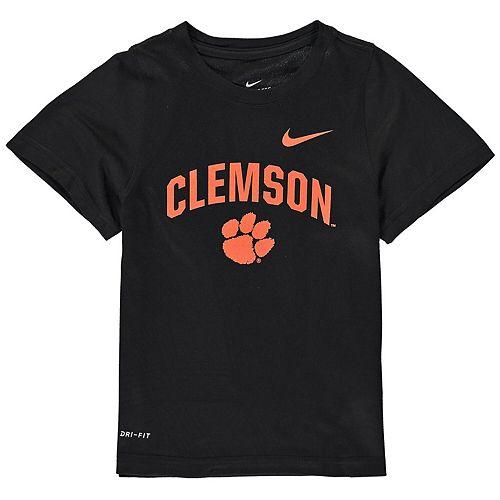 Toddler Nike Black Clemson Tigers Legend Performance T-Shirt