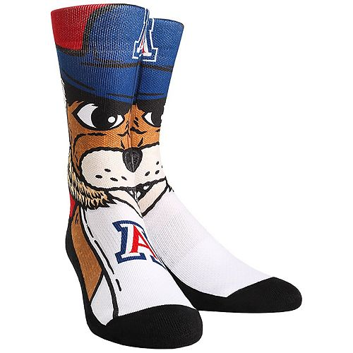 Men's Arizona Wildcats Mascot & Logo Crew Socks