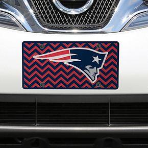 New England Patriots Chevron Acrylic Laser Cut Plate