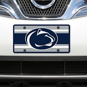 Penn State Nittany Lions Super Stripe Acrylic Laser-Cut License Plate