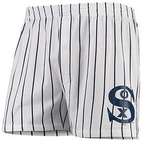 Men's Concepts Sport White Chicago White Sox Vigor Boxer Shorts