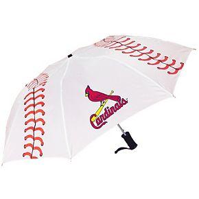 St. Louis Cardinals Baseball Folding Umbrella