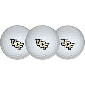 UCF Knights Pack of 3 Golf Balls