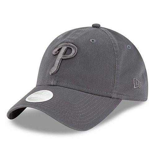 Women's New Era Graphite Philadelphia Phillies Tonal Core Classic 9TWENTY Adjustable Hat
