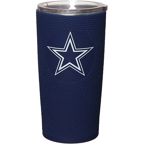 Dallas Cowboys 20oz. Stainless Steel with 3D Silicone Tumbler