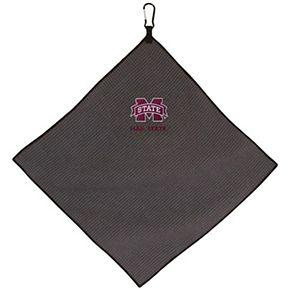 "Mississippi State Bulldogs 15"" x 15"" Microfiber Golf Towel"