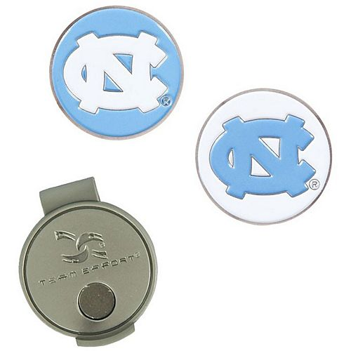 North Carolina Tar Heels Hat Clip & Ball Markers Set