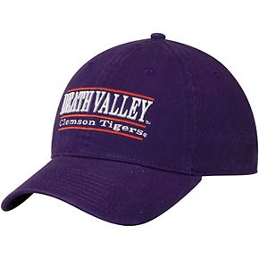 Men's The Game Purple Clemson Tigers Death Valley Classic Bar Unstructured Adjustable Hat