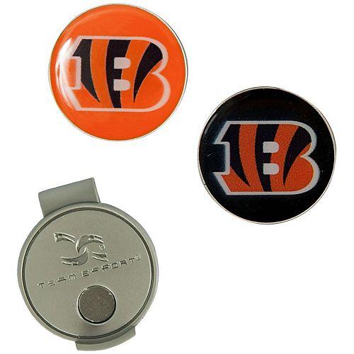 Cincinnati Bengals Hat Clip & Ball Markers Set