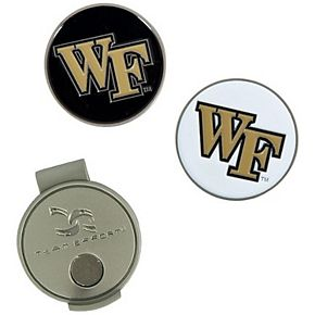 Wake Forest Demon Deacons Hat Clip & Ball Markers Set