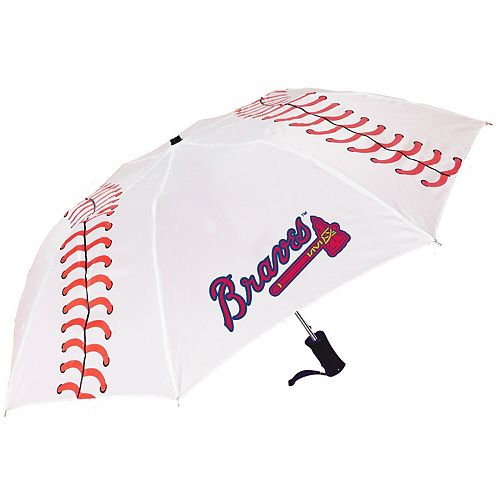 Atlanta Braves Baseball Folding Umbrella