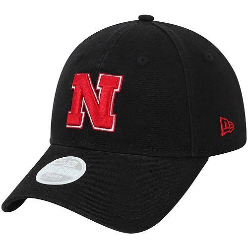 Women's New Era Black Nebraska Cornhuskers Team Core Classic Twill 9TWENTY Adjustable Hat