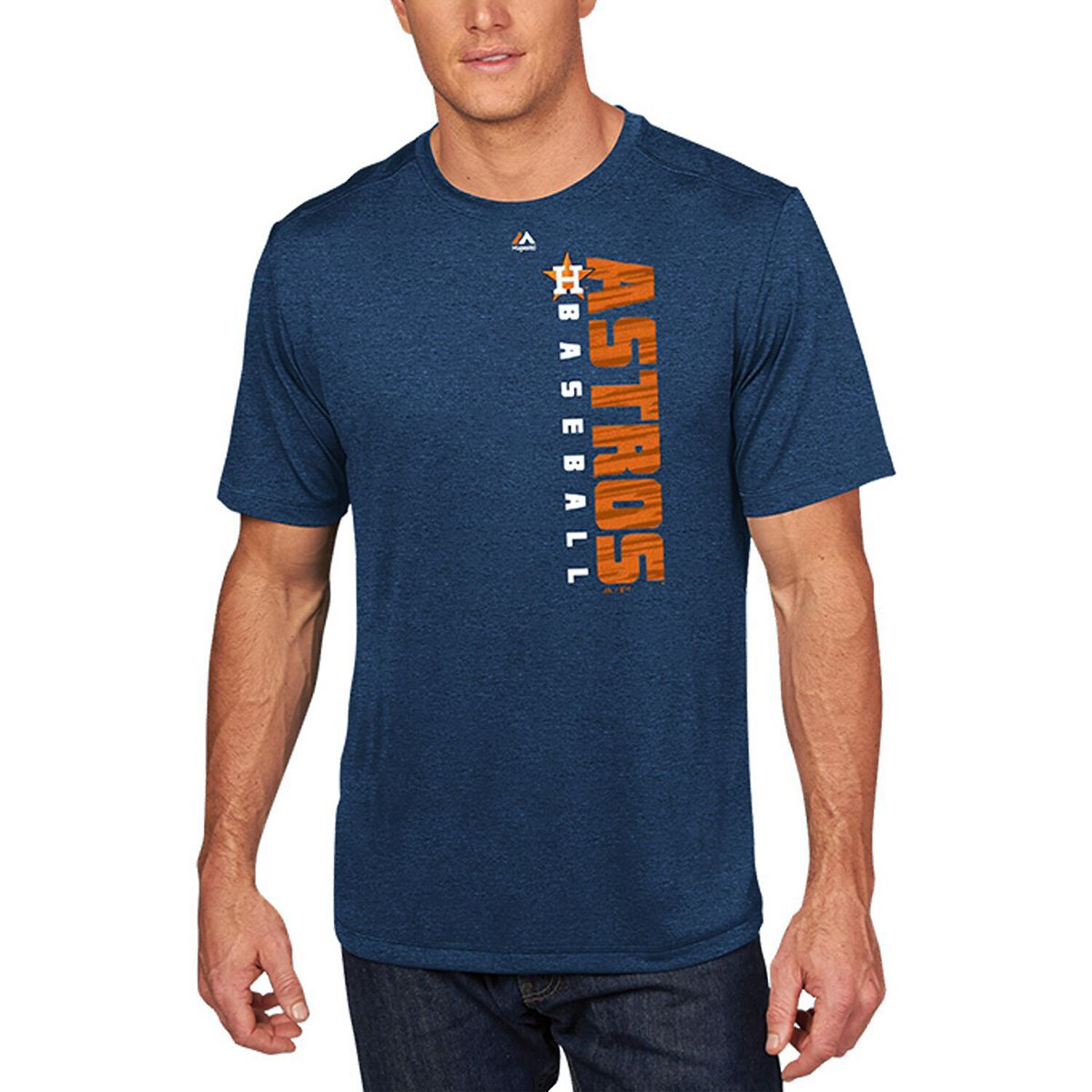 Men's Majestic Navy Houston Astros Winning Commitment Cool Base T-Shirt IXQ5L