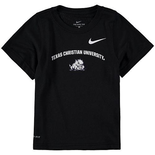 Toddler Nike Black TCU Horned Frogs Legend Performance T-Shirt