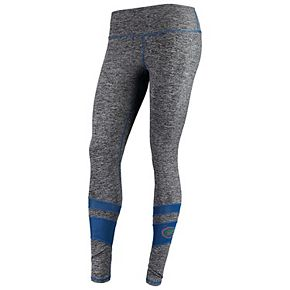 Women's ZooZatz Gray Florida Gators Color Mesh Insert Leggings