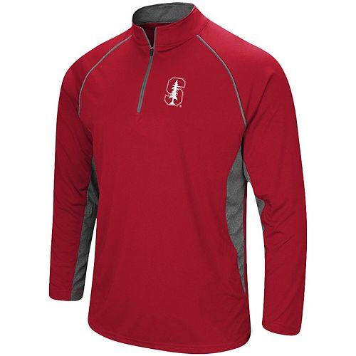 Men's Colosseum Cardinal Stanford Cardinal Quarter-Zip Windshirt