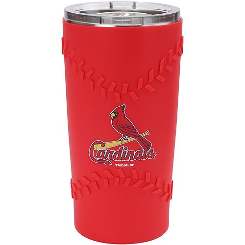 St. Louis Cardinals 20oz. Stainless Steel with 3D Silicone Tumbler