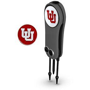 Utah Utes Switchblade Repair Tool & Two Ball Markers