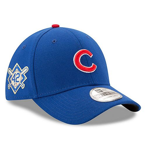 Men's New Era Royal Chicago Cubs Jackie Robinson Day 39THIRTY Flex Hat