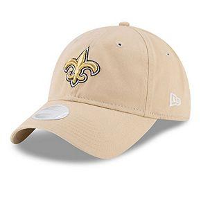 Women's New Era Gold New Orleans Saints Secondary Core Classic 9TWENTY Adjustable Hat