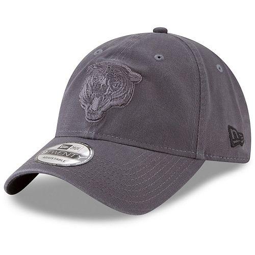 Men's New Era Graphite Chicago Bears Core Classic Tonal 9TWENTY Adjustable Hat
