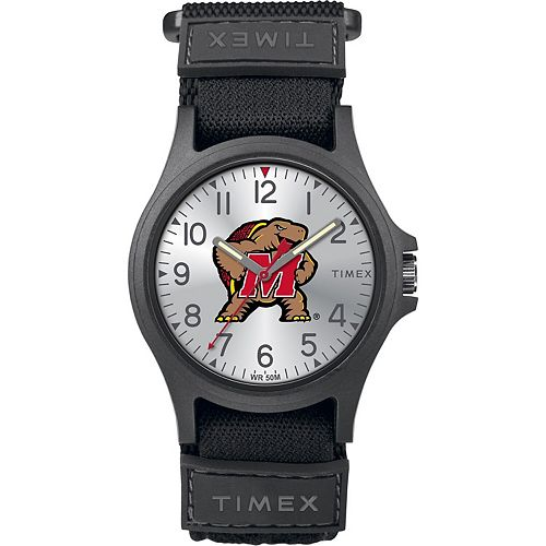 Men's Timex Maryland Terrapins Merge Pride Watch