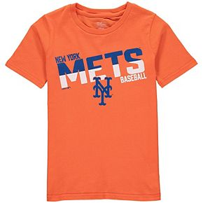 Youth Orange New York Mets Alternate All Meshed Up T-Shirt