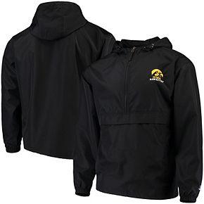 Men's Champion Black Iowa Hawkeyes Packable Jacket