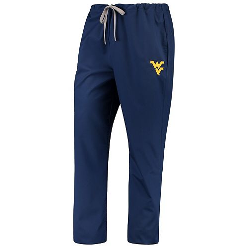 Navy West Virginia Mountaineers Drawstring Cargo Pants