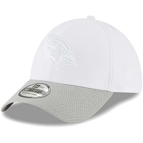 Men's New Era White/Gray Arizona Cardinals Tone Tech Redux 2 39THIRTY Flex Hat