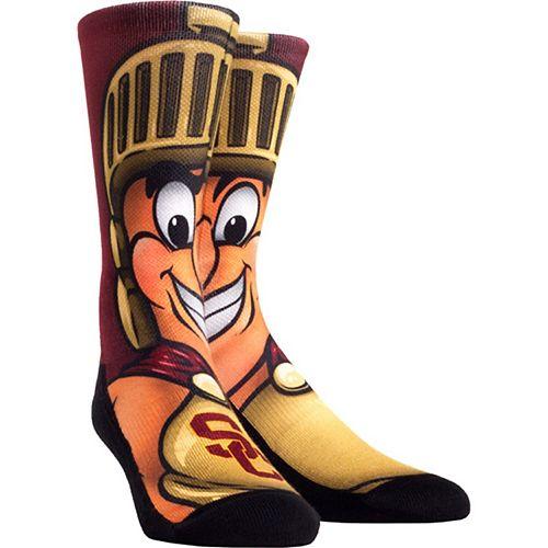Women's USC Trojans Mascot Crew Socks