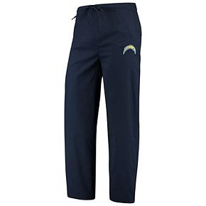 Men's Concepts Sport Navy Los Angeles Chargers Scrub Pants