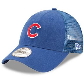 Men's New Era Royal Chicago Cubs Trucker 9FORTY Adjustable Snapback Hat