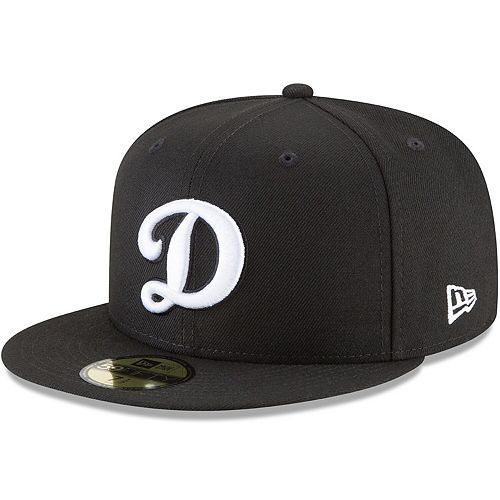 Men's New Era Black Los Angeles Dodgers Basic 59FIFTY Fitted Hat