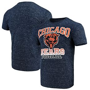 Men's G-III Sports by Carl Banks Navy Chicago Bears Outfield Speckle T-Shirt