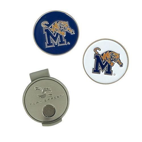 Memphis Tigers Hat Clip & Ball Markers Set
