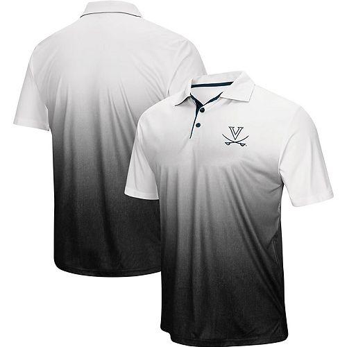 Men's Colosseum Navy Virginia Cavaliers Magic Team Logo Polo