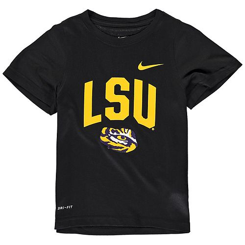 Toddler Nike Black LSU Tigers Legend Performance T-Shirt