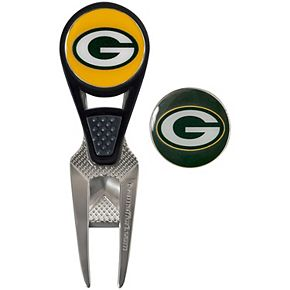 Green Bay Packers CVX Repair Tool & Ball Markers Set