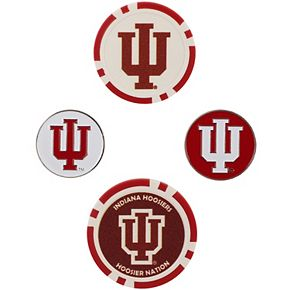 Indiana Hoosiers Ball Marker Set