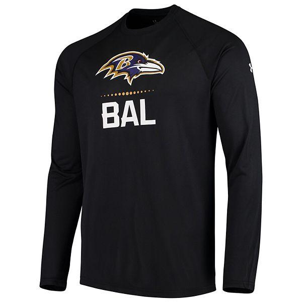 Men's Under Armour Black Baltimore Ravens Combine Authentic ...