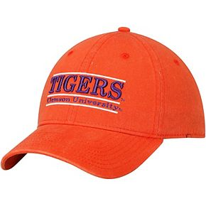 Men's The Game Orange Clemson Tigers Classic Bar Unstructured Adjustable Hat