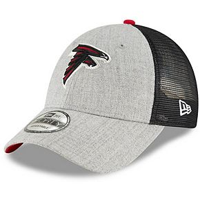 Men's New Era Heathered Gray/Black Atlanta Falcons Turn 9FORTY Adjustable Snapback Hat