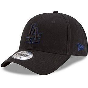 Men's New Era Black Los Angeles Dodgers Core Pop 49FORTY Fitted Hat