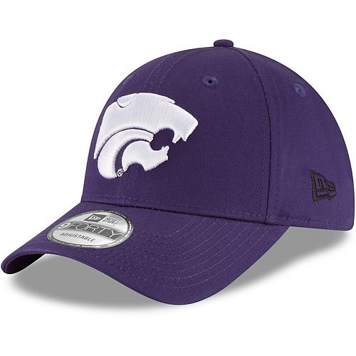 Men's New Era Purple Kansas State Wildcats The League 9FORTY Adjustable Hat