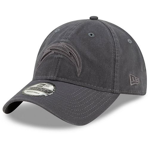 Men's New Era Graphite Los Angeles Chargers Core Classic Tonal 9TWENTY Adjustable Hat