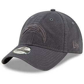 Men's New Era Graphite Los Angeles Chargers Core Classic Tonal 9TWENTY Adjustable Hat