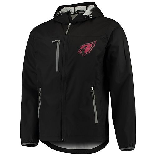 Men's G-III Sports by Carl Banks Black Arizona Cardinals Trick Play Full-Zip Hooded Jacket